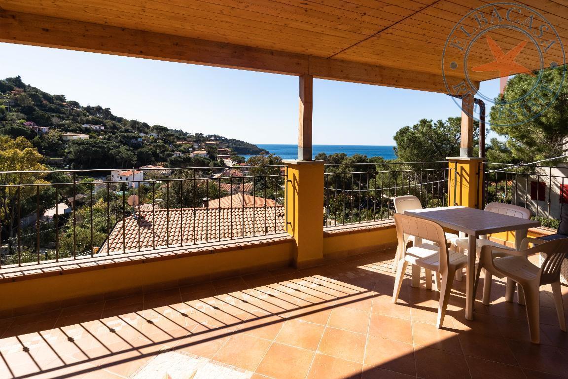 capoliveri - elba - Appartamento con superba vista mare