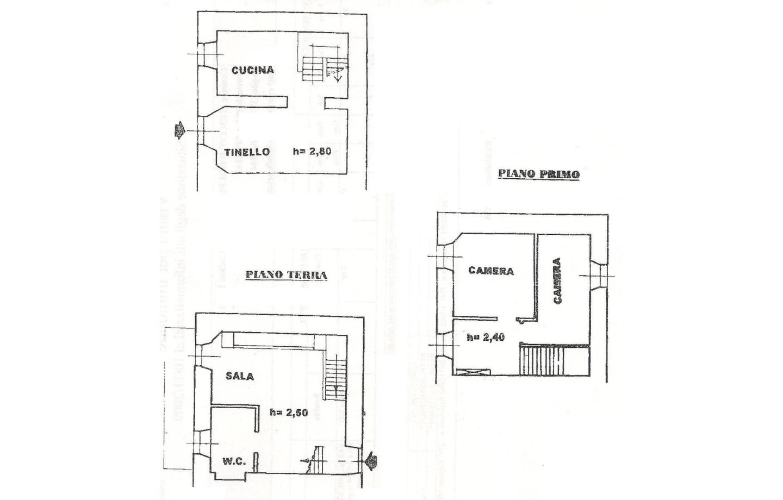 Casa Semindipendente in Vendita Riccò del Golfo di Spezia