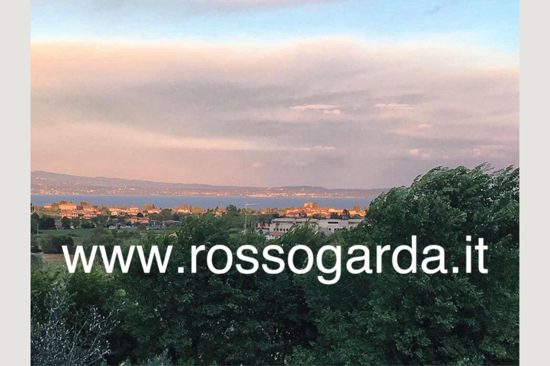 villa vista panoramica Soiano vista Lago
