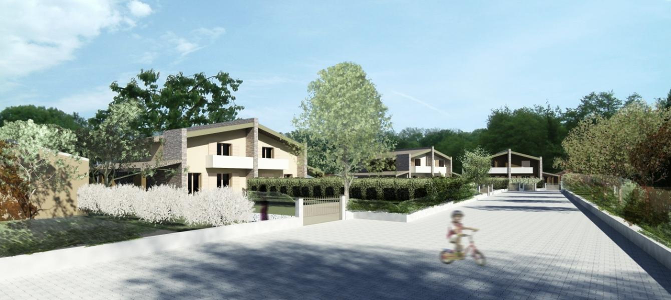 Bodio Lomnago bellissime ville bifamiliari di nuova costruzione