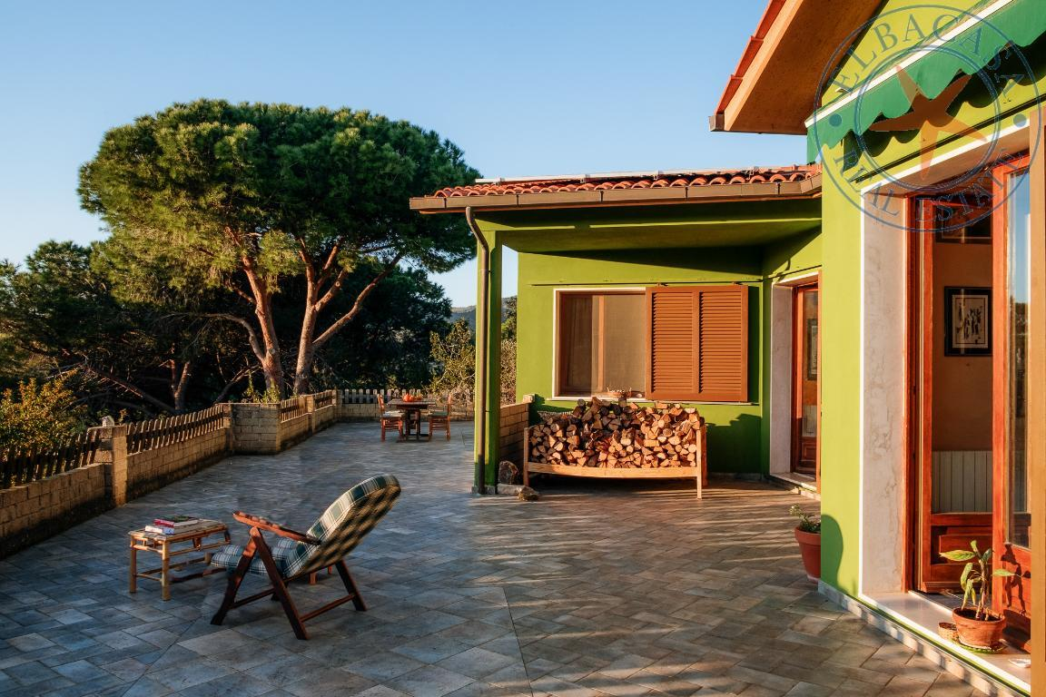 capoliveri - elba - Villa nel verde e vicina al paese