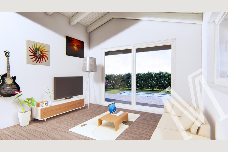 soggiorno villa nuova Soiano vendita