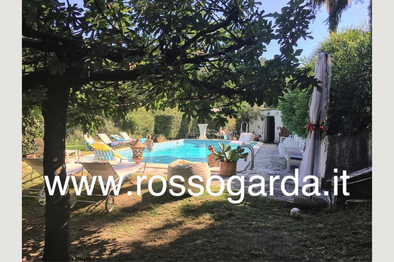 Giardino villa vista panoramica Soiano