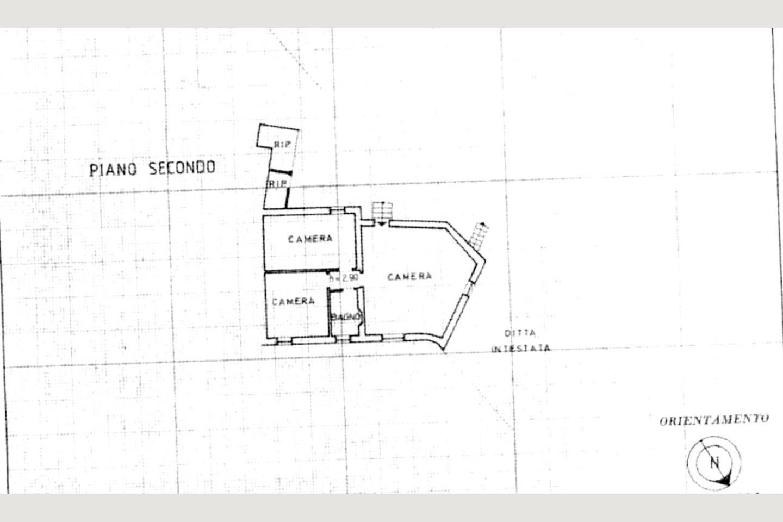 Planimetria Mansarda Castellaro