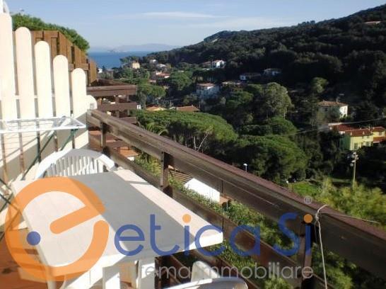 ISOLA D'ELBA (LI) - CAVO - mini appartamento in posizione panoramica in vendita