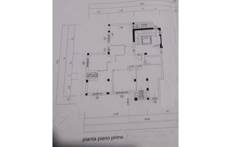 disegno degli appartamenti uniti in un 5V