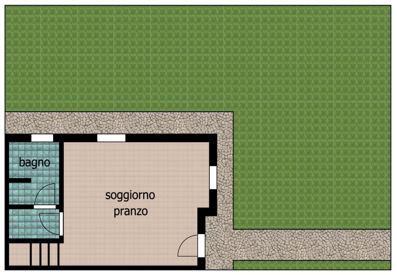 villa a schiera centrale a Alfonsine