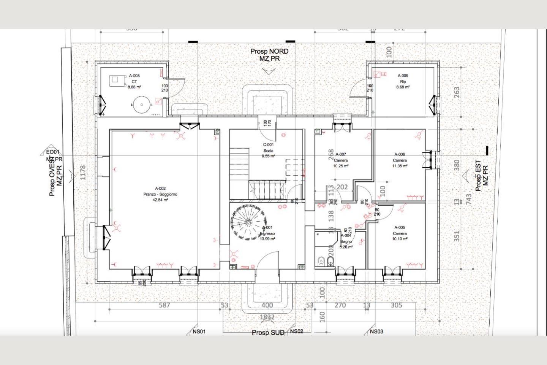 planimetria pt Casale Ristrutturato B&B in vendita