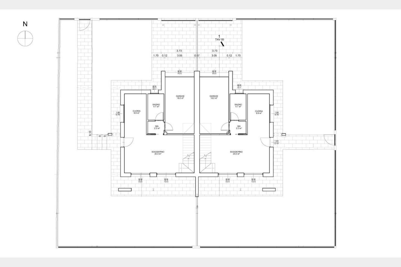 Villa bifamiliare in Vendita Santa Maria di Sala