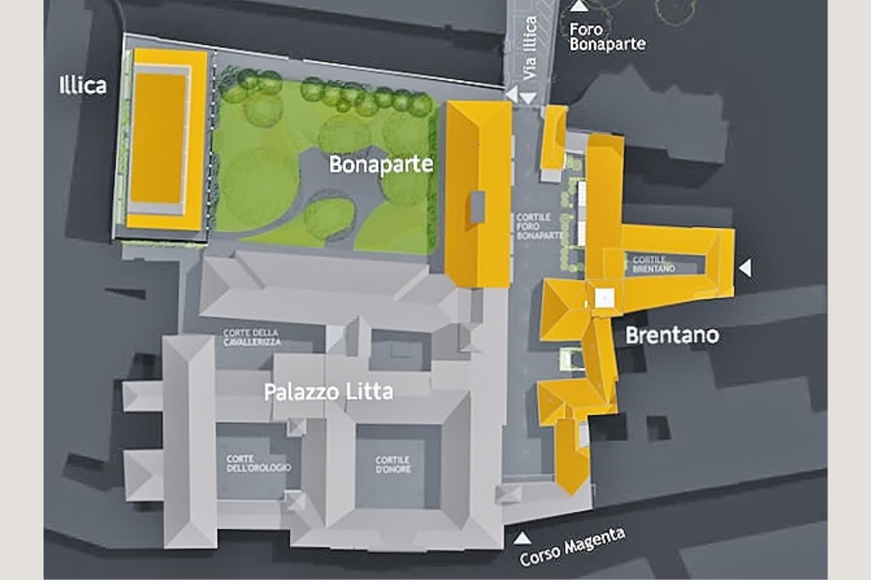 Mappa Residenze