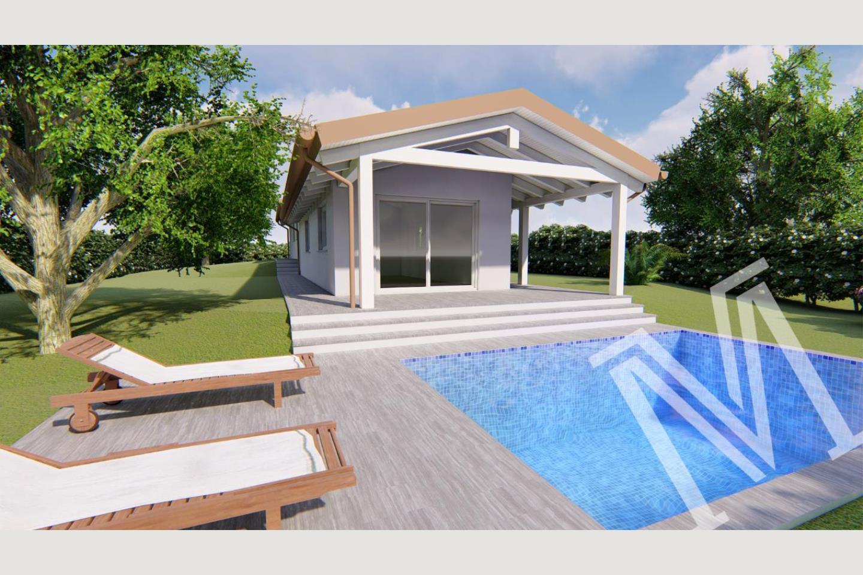 villa nuova Soiano vendita facciata