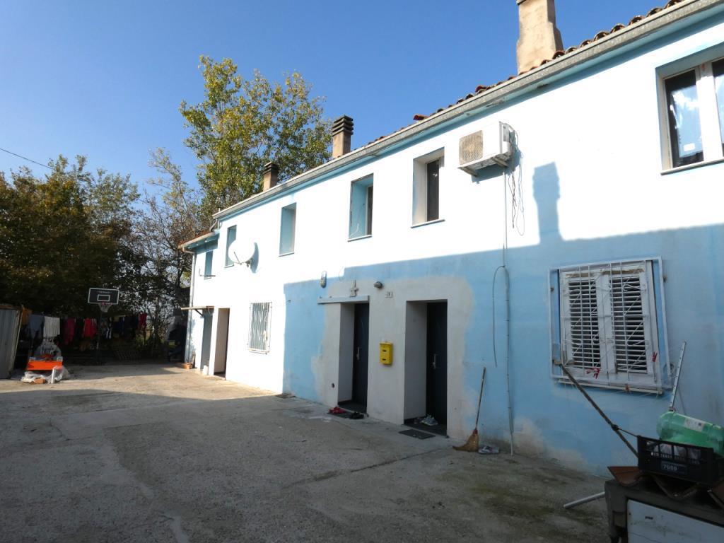 La casa doppia. Via Cavallotti Alfonsine
