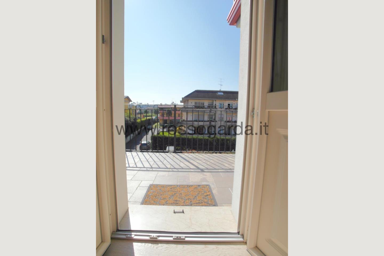 Terrazza vista aperta di attico vendita Desenzano