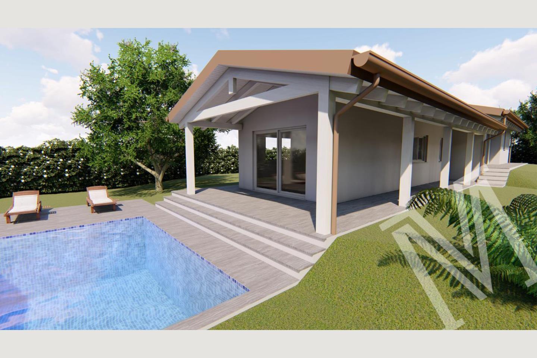 vista villa nuova Soiano vendita