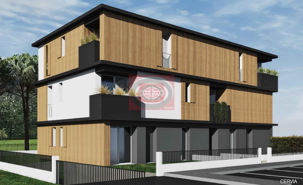 CERVIA ( zona Malva Sud ) - ampio appartamento NUOVO con 3 camere letto, 3 bagni, posto auto