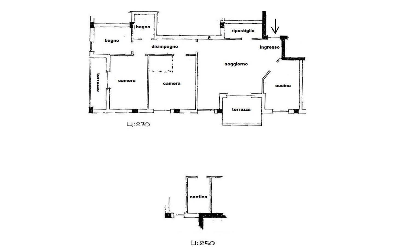 Appartamento in Vendita Aulla
