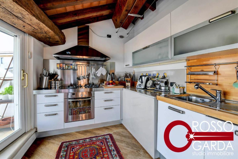 cucina Attico centro storico vendita Desenzano