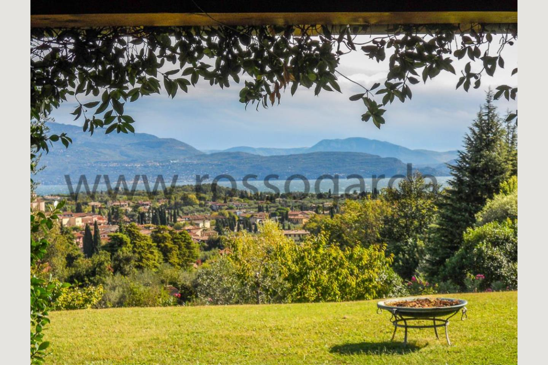 Villa vista lago San Felice vendita panorama