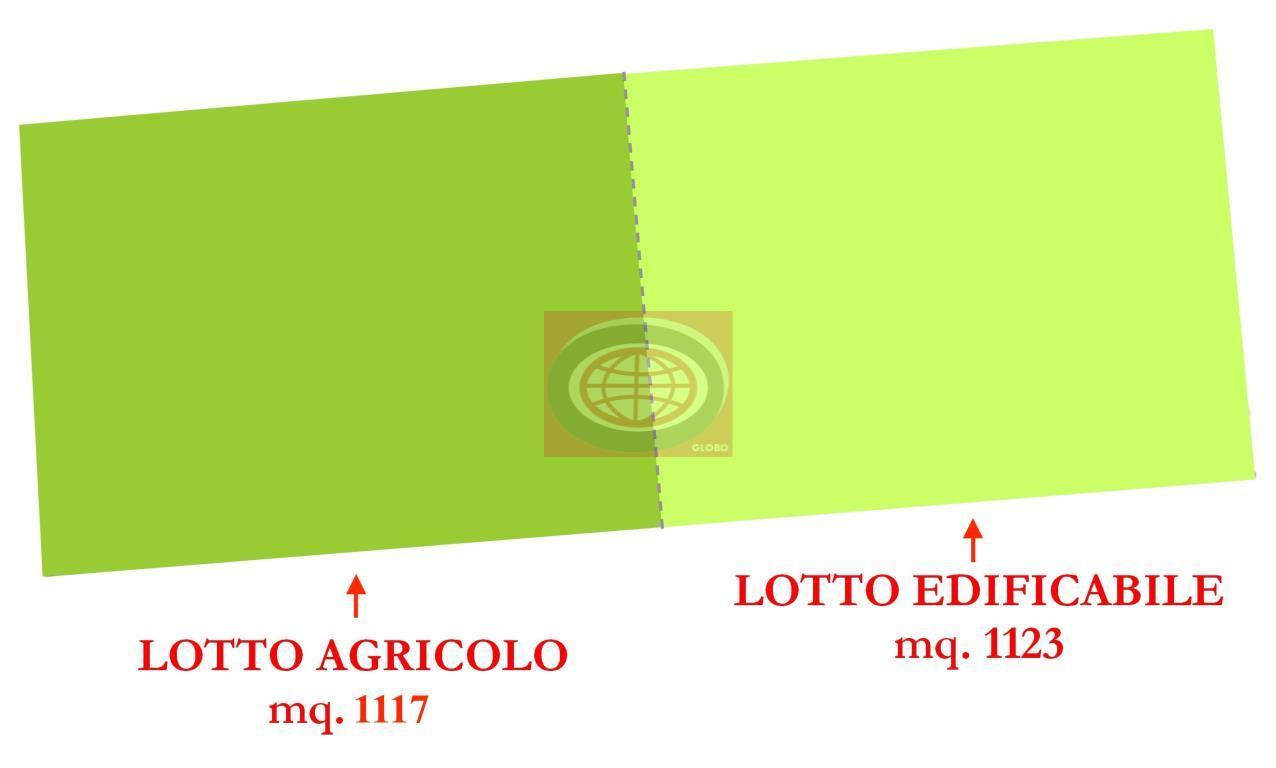 S. EGIDIO - terreno edificabile in zona silenziosa, servita e circondata dal verde