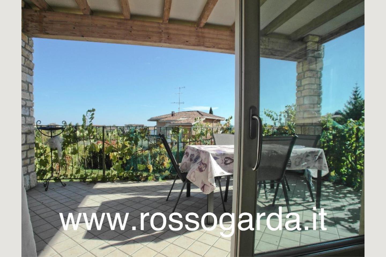 vista terrazza Villa Bifamiliare vendita Padenghe