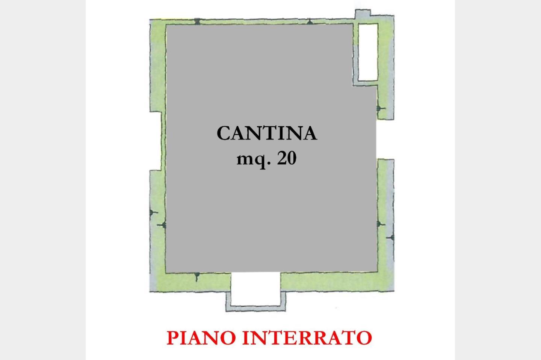 Piano Interrato - Cantina