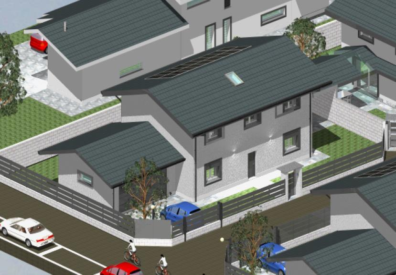 Nuovo contesto residenziale di sole ville