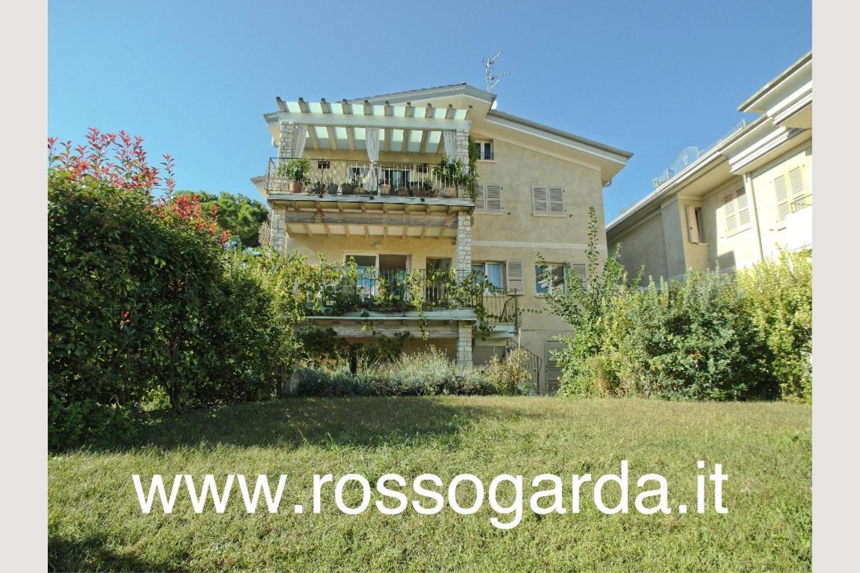 Villa Bifamiliare vendita Padenghe facciata