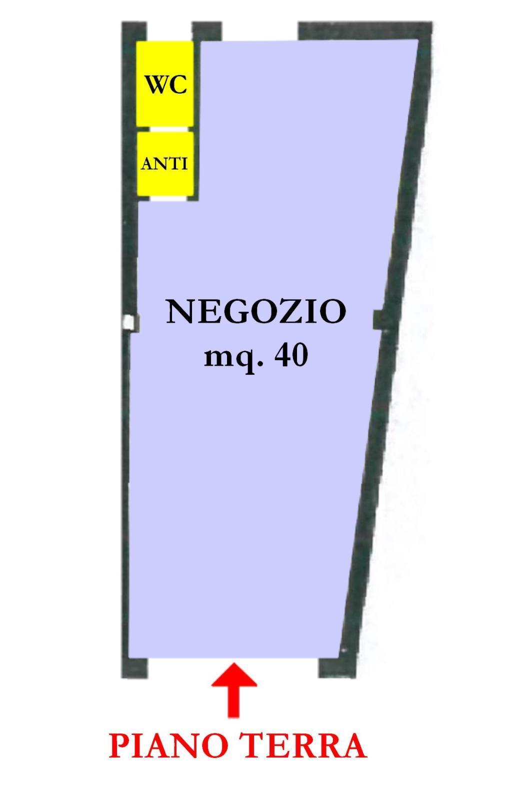 Affitto di un negozio/ufficio a Cesena