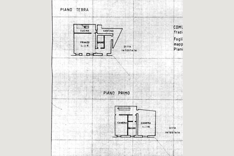 Planimetria  corpo principale Castellaro
